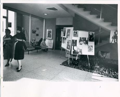 Dubinsky photo exhibit Pitzer