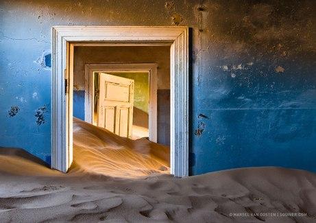 Marsel van Oosten abandoned mining town