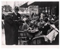A Paris cafe.