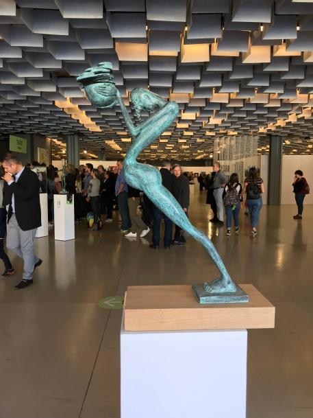 "This sculpture, ""Sacrifice,"" by Jiri Netik was created in 2005."